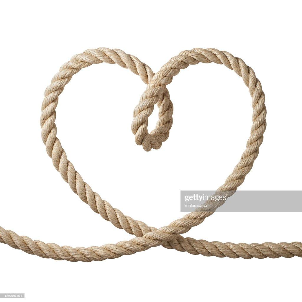 Heart shaped rope