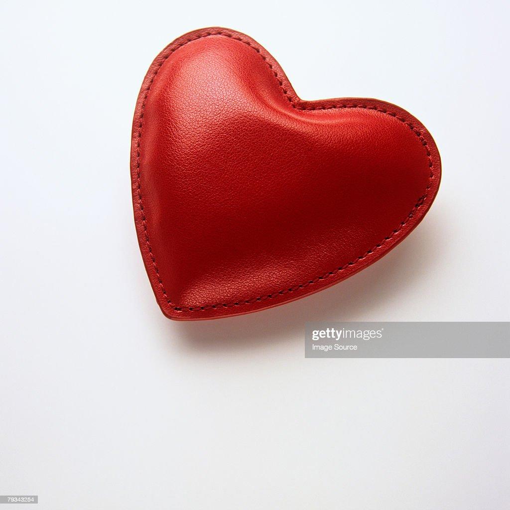 A heart shaped trinket