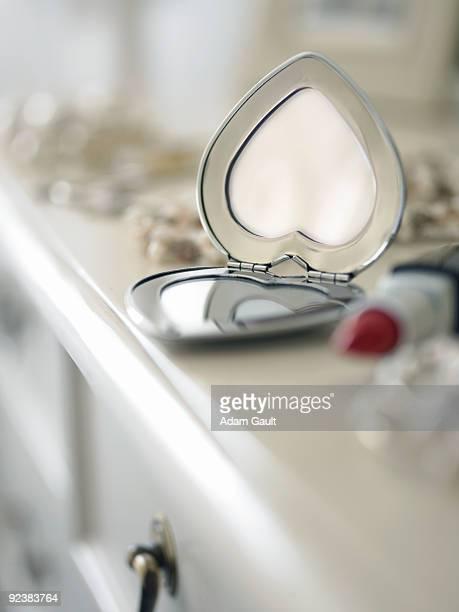 Heart Shaped Vanity Mirror