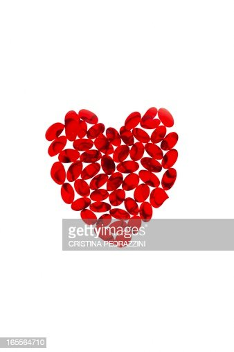 Heart supplements, conceptual image : Photo