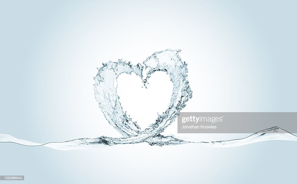 Heart wave : Stock Photo