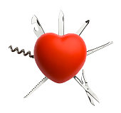 Heart with Work Tool