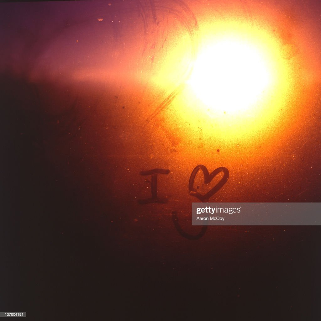 I heart you : Stock Photo