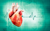 heart health fitness concept