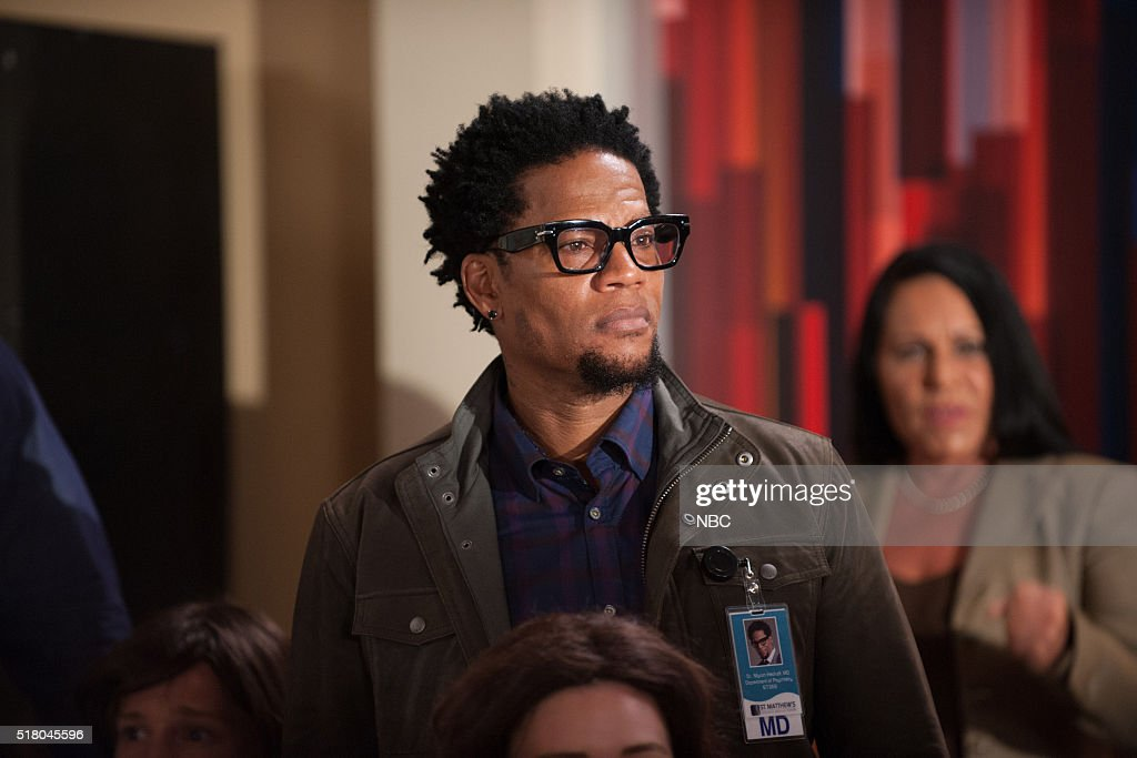 HEARTBEAT '100000 Heartbeats' Pictured DL Hughley as Dr Myron Hackett