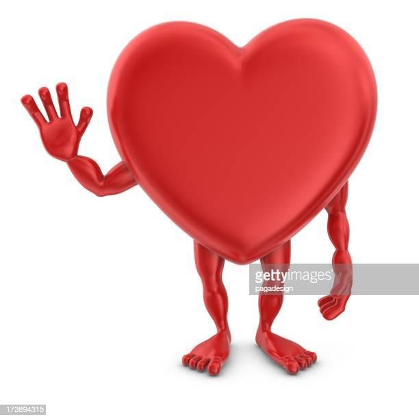 heartman waving