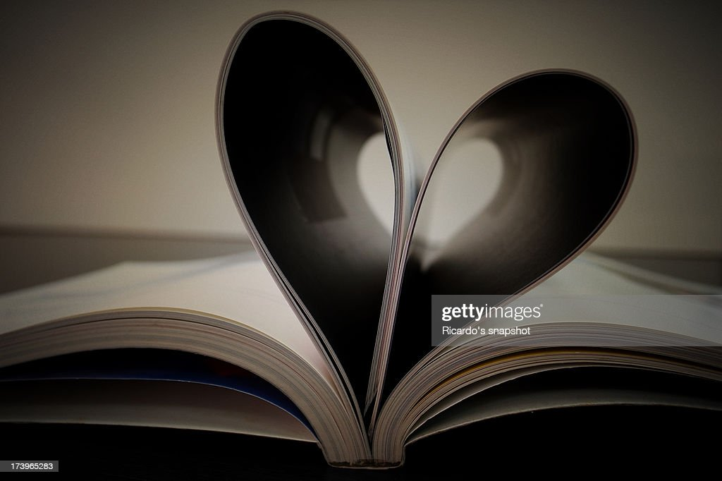 heart's book : Stock Photo