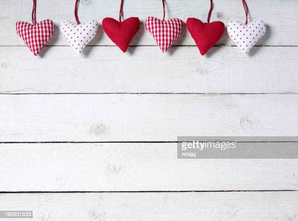 Hearts in Line
