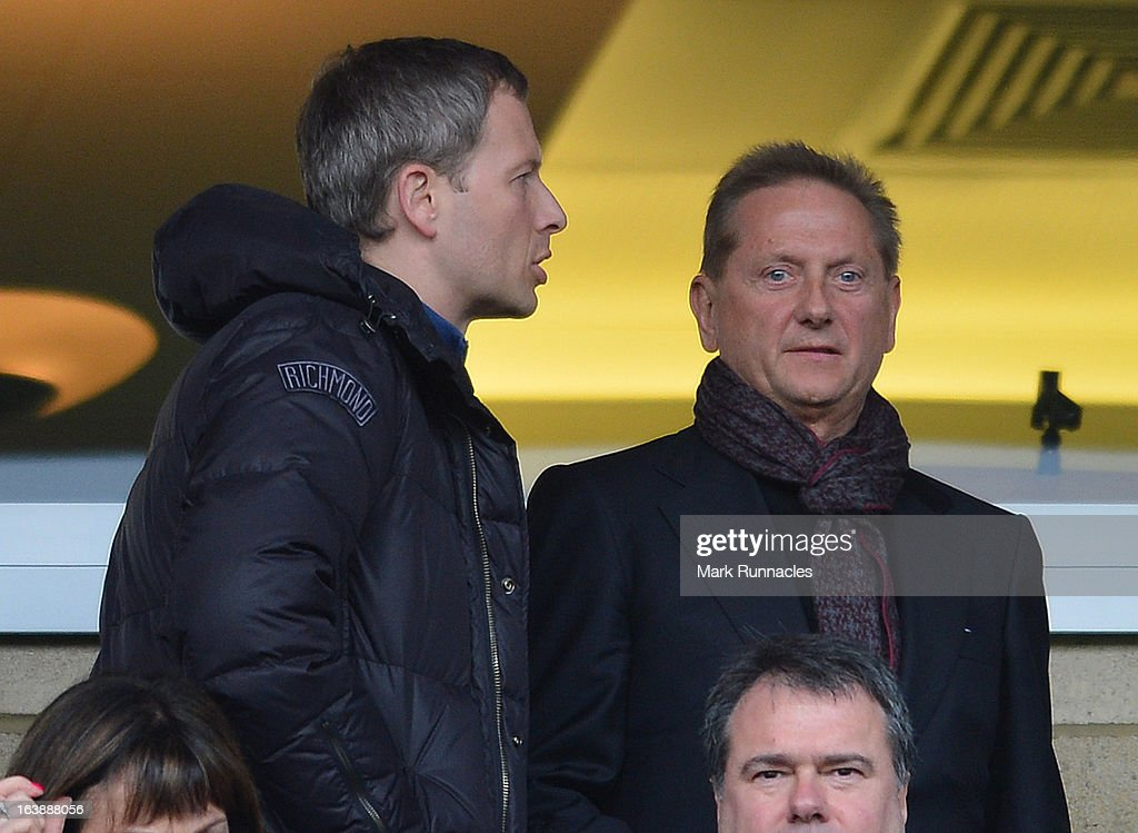 Hearts Owner Vladimir Romanov during the Scottish Communities League Cup Final between St Mirren and Hearts at Hampden Park on March 17, 2013 in Glasgow, Scotland.