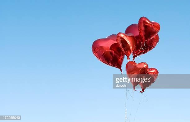 Hearts-balloons