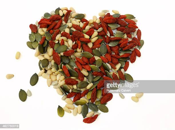 Heart-shape for healthy eating