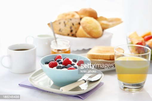 A hearty, balanced breakfast spread