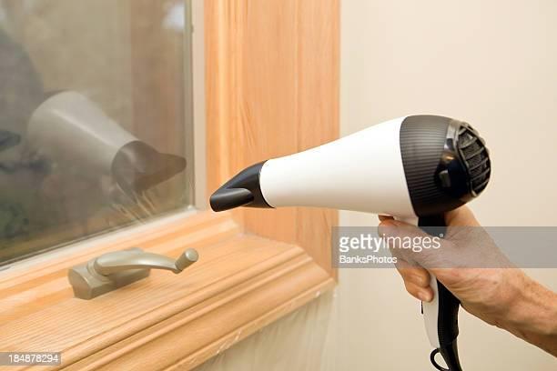 Il calettamento finestra pellicola isolante in plastica