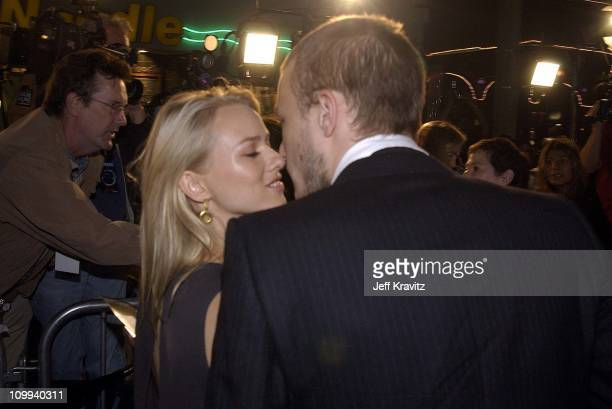 Heath Ledger and Naomi Watts during The Ring Premiere Arrivals at Mann Bruin Theatre in Los Angeles