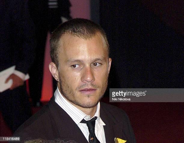 Heath Ledger during 2005 Venice Film Festival 'Brokeback Mountain' Arrivals at Sala Grande in Venice Italy