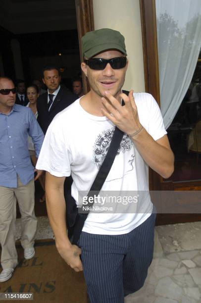 Heath Ledger during 2005 Venice Film Festival Celebrity Sightings September 3 2005 at Hotel De Bains in Venice Italy