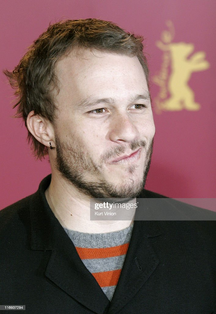 Heath Ledger during 56th Berlinale International Film Festival - 'Candy' - Photocall at Hyatt Hotel in Berlin, Berlin, Germany.