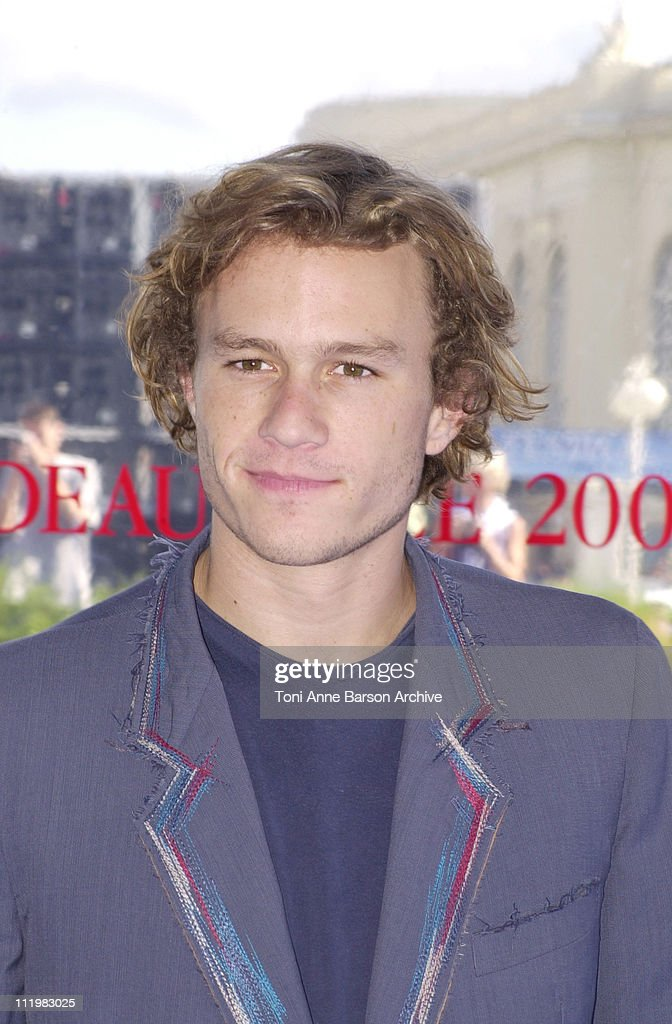 Deauville 2001 -  A Knight's Tale Photocall