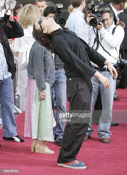 Heath Ledger during 'Lords of Dogtown' Los Angeles Premiere at Mann's Chinese Theater in Hollywood California United States