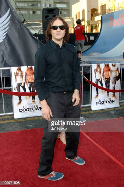 Heath Ledger during Lords of Dogtown Los Angeles Premiere at Mann's Chinese Theater in Hollywood California United States