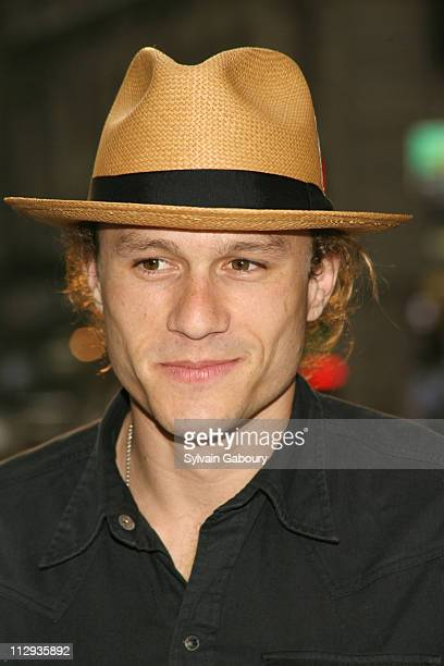 Heath Ledger during 'Rescue Dawn' New York City Premiere Arrivals at Dolby Screening Room at 1350 Avenue of the Americas in New York City New York...
