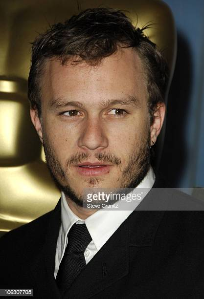 Heath Ledger during The 78th Annual Academy Awards Nominees Luncheon at Beverly Hilton Hotel in Beverly Hills California United States