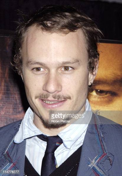 Heath Ledger during Touchstone Pictures' 'Casanova' New York City Premiere Inside Arrivals at The Loews Lincoln Square in New York City New York...