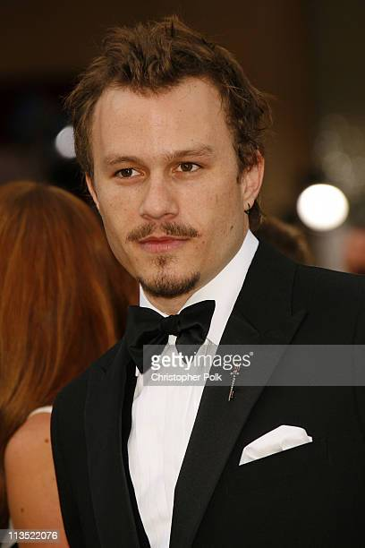 "Heath Ledger nominee Best Actor in a Leading Role for ""Brokeback Mountain"""