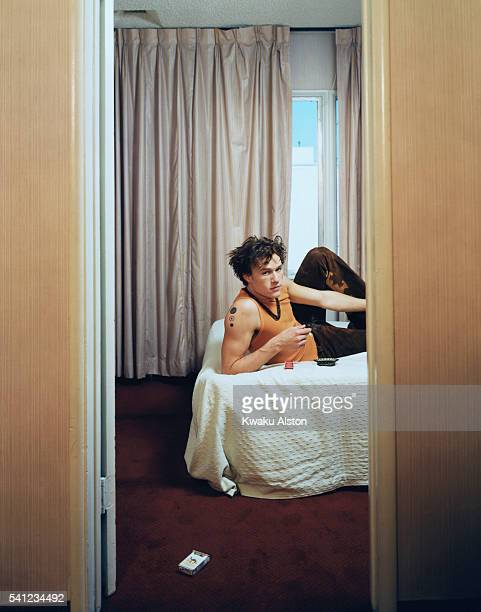 Heath Ledger Reclining on a Bed