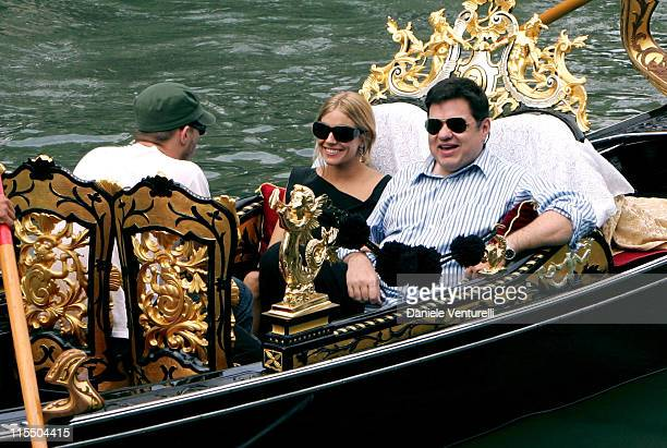Heath Ledger Sienna Miller and Oliver Platt during 2005 Venice Film Festival Sienna Miller Sighting September 3 2005 in Venice Lido Italy