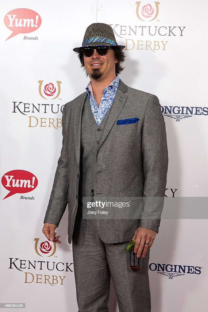 Heath Owens attends the 140th Kentucky Derby at Churchill Downs on May 3, 2014 in Louisville, Kentucky.