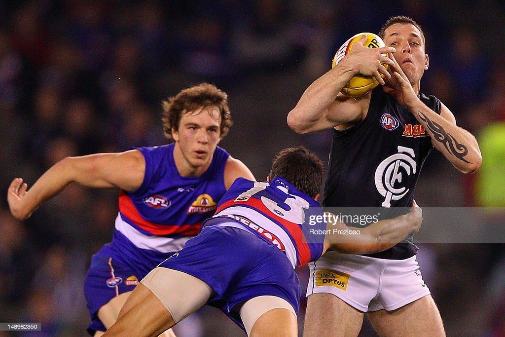 AFL Rd 17 - Western Bulldogs v Carlton