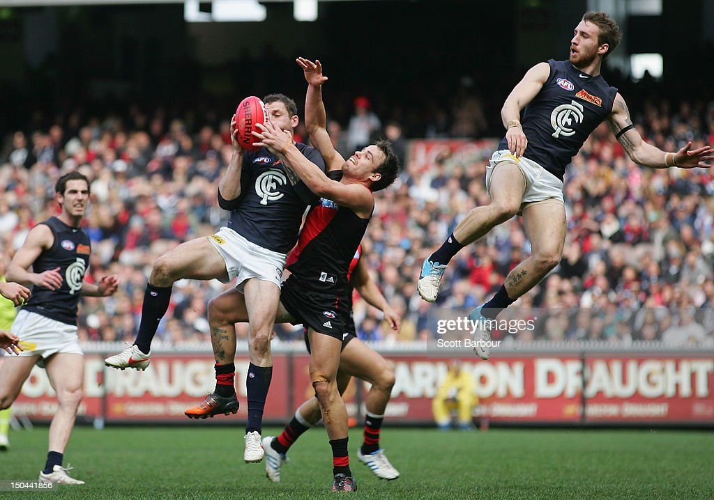 AFL Rd 21 - Essendon v Carlton
