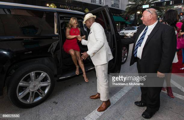 Heather and Will Packer attend The 2017 American Black Film Festival on June 14 2017 in Miami Florida