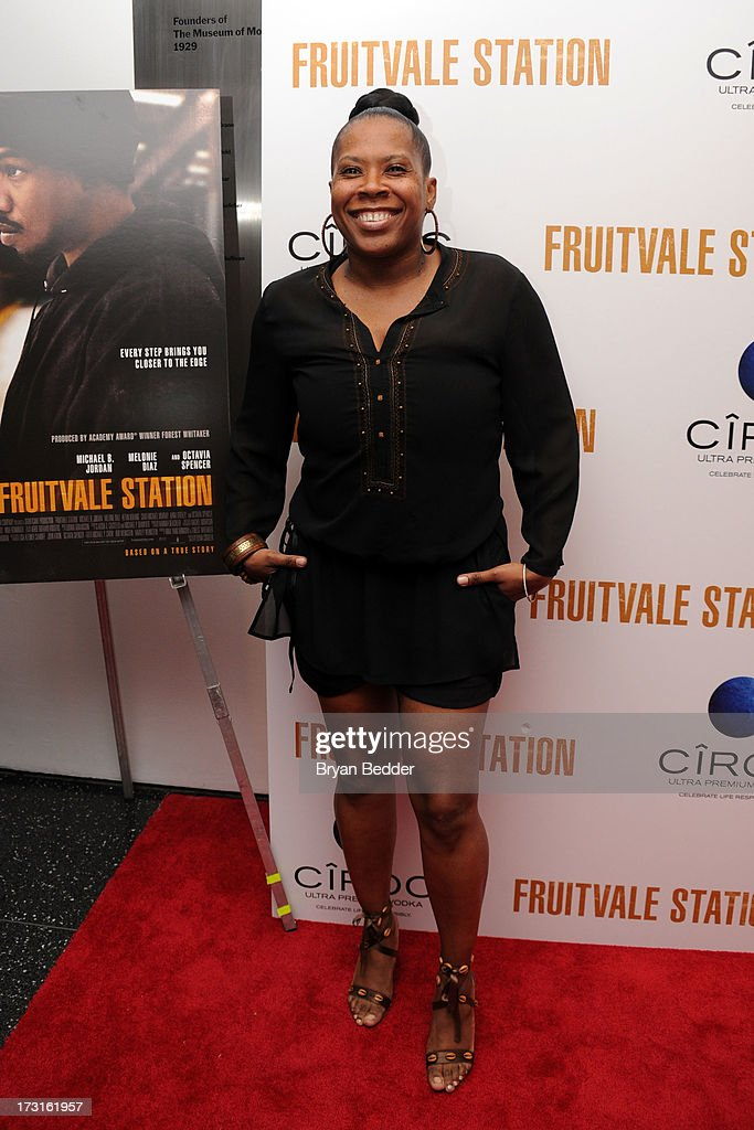 Heather B arrives at the New York premiere of FRUITVALE STATION, hosted by The Weinstein Company, BET Films and CIROC Vodka on July 8, 2013 in New York City.