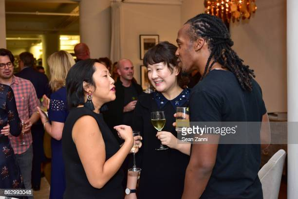 Heather Ba Jay Chang and Michael Alexander attend Tom Faulkner at Angela Brown Ltd on October 18 2017 in New York City