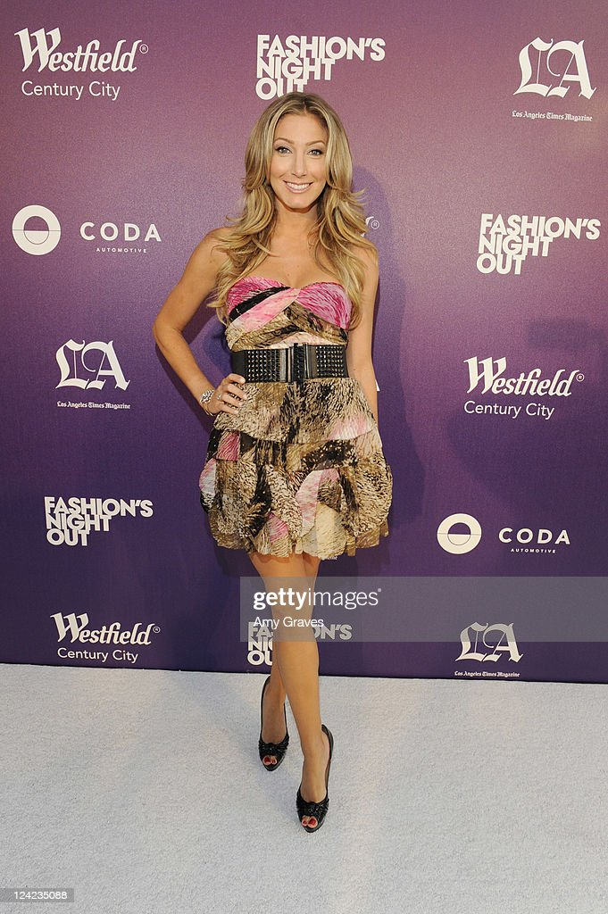 Heather Bilyeu attends Fashion's Night Out celebration at Westfield Century City on September 8, 2011 in Los Angeles, California.