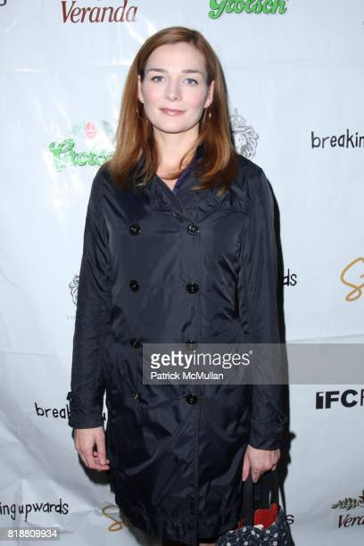 Heather Burns attends IFC FILMS Presents the New York Premiere of BREAKING UPWARDS at IFC Film Center on April 1 2010 in New York City