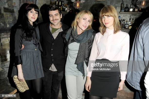 Heather D'Angelo Philip Kressin Emily Haines and Erika Forster attend SHOPBOPCOM Party to Celebrate the Launch of BARLOW at Los Feliz on February 24...