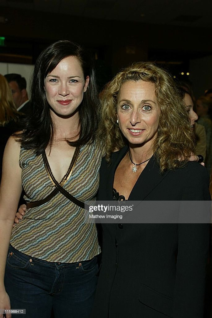 Heather Donahue and Bonnie Hammer during Steven Spielberg Presents 'Taken' Premiere at Writers Guild of America Theatre in Beverly Hills CA United...