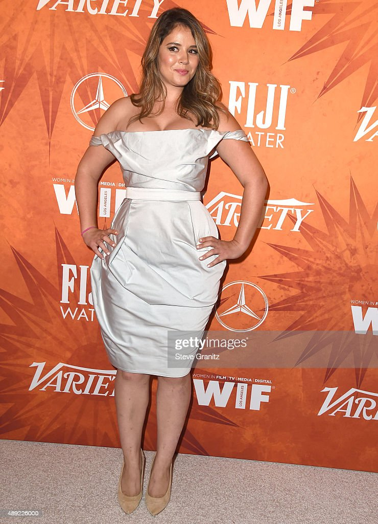 Heather Donahue arrives at the Variety And Women In Film Annual PreEmmy Celebration at Gracias Madre on September 18 2015 in West Hollywood California