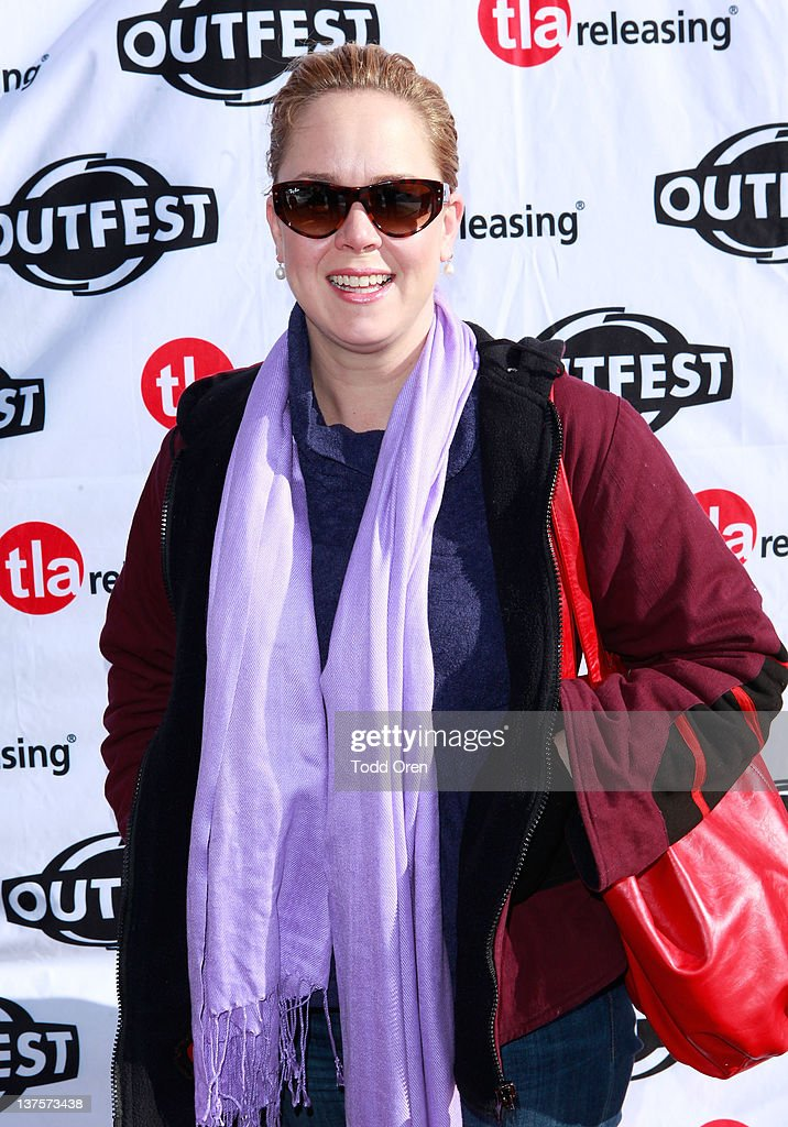 Heather Donahue attends Outfest Queer Brunch on January 22 2012 in Park City Utah
