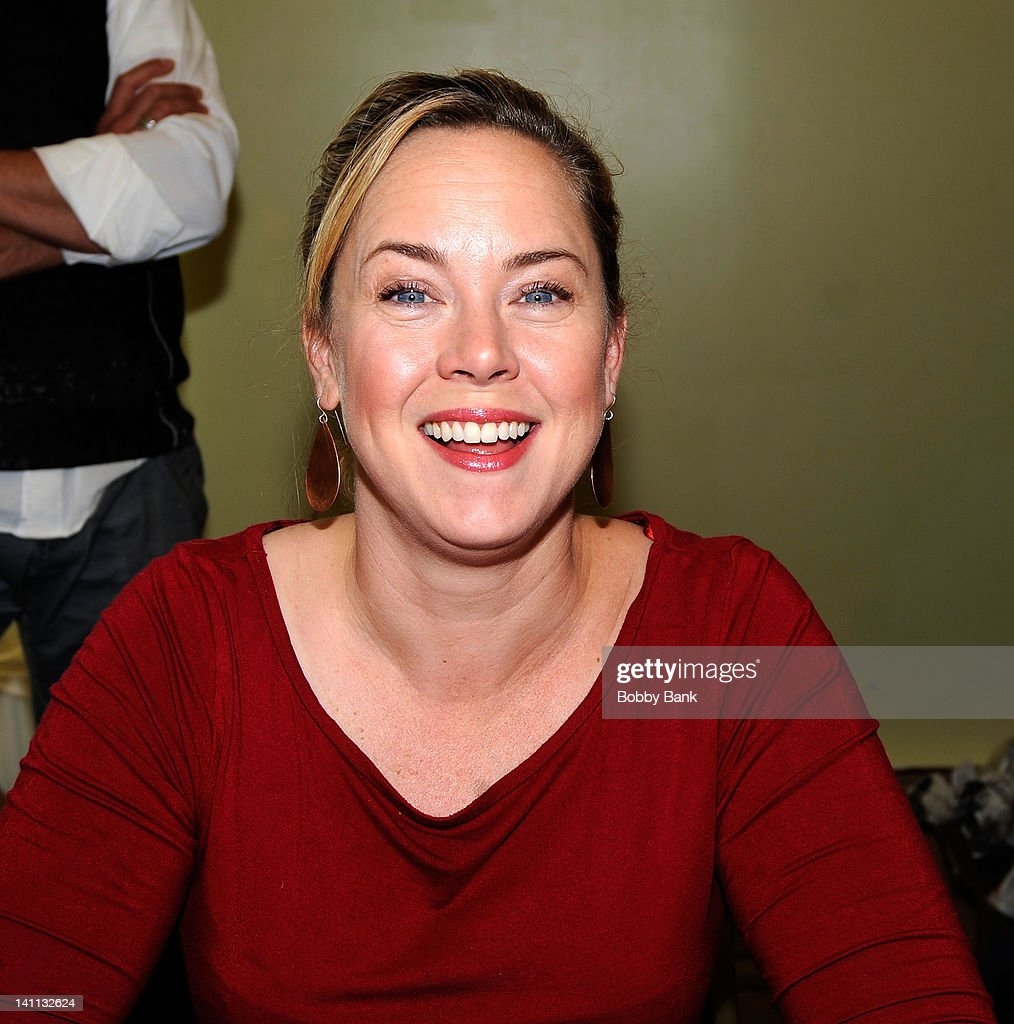 Heather Donahue attends the Monster Mania Convention at the NJ Crowne Plaza Hotel on March 10 2012 in Cherry Hill New Jersey