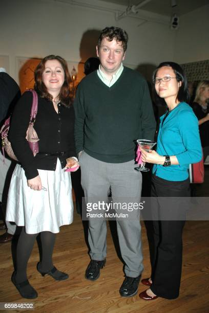 Heather Drucker Ron Hogan and Van Luu attend THE SOCIETY PRESENTS POP The Genius of ANDY WARHOL hosted by Naeem and Ranjana Khan at 129 Spring Street...
