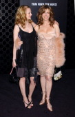 Heather Graham and Rita Wilson during Rodeo Drive Walk of Style Event Honoring Tom Ford Arrivals at Rodeo Drive in Beverly Hills California United...