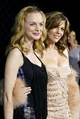 Heather Graham and Rita Wilson during Rodeo Drive Walk of Style Event Honoring Tom Ford Red Carpet at Rodeo Drive in Beverly Hills California United...