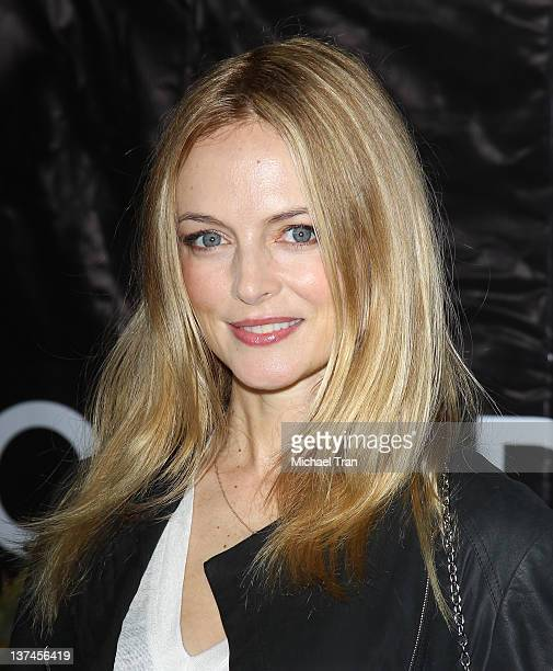 Heather Graham arrives at the Cirque du Soleil 'OVO' celebrity opening night gala held at Santa Monica Pier on January 20 2012 in Santa Monica...