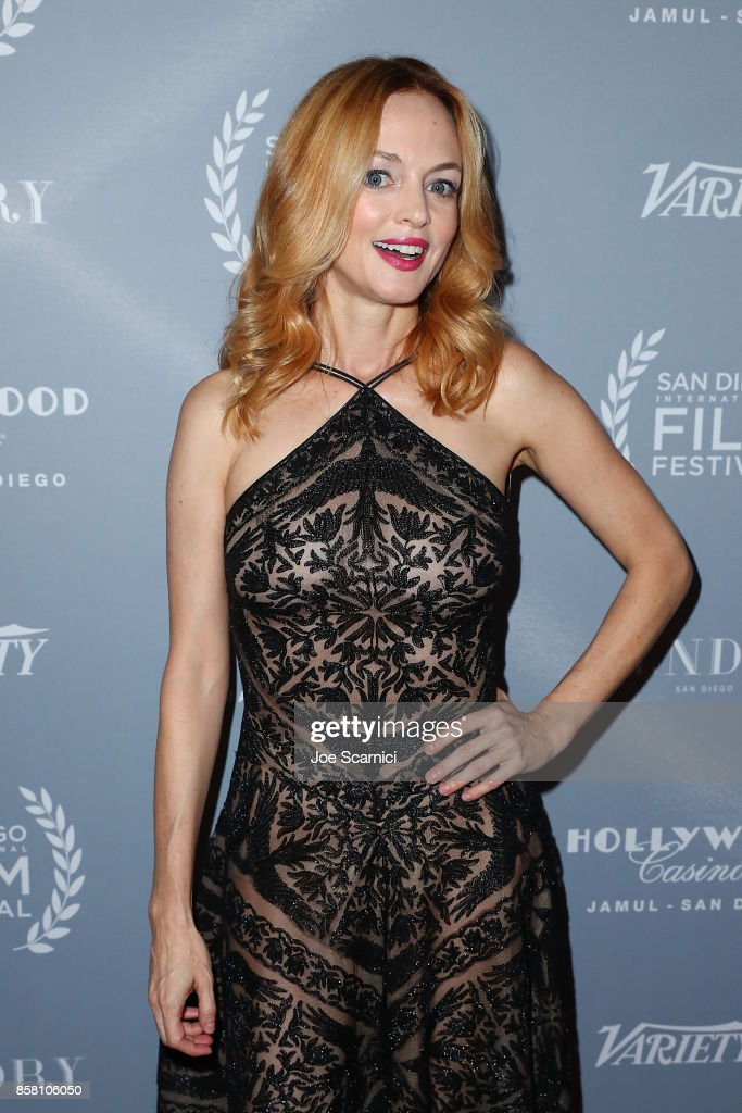 Heather Graham arrives at the San Diego International Film Festival's 'Night Of The Stars' at Pendry San Diego on October 5, 2017 in San Diego, California.