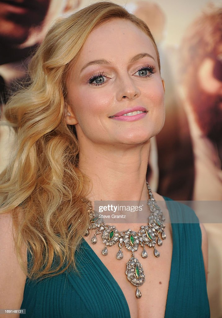 Heather Graham arrives at the 'The Hangover III' - Los Angeles Premiere at Mann's Village Theatre on May 20, 2013 in Westwood, California.