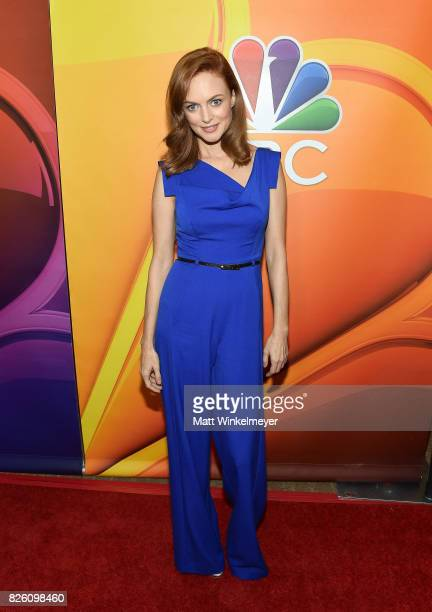 Heather Graham at the NBCUniversal Summer TCA Press Tour at The Beverly Hilton Hotel on August 3 2017 in Beverly Hills California